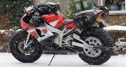 moto sulla neve